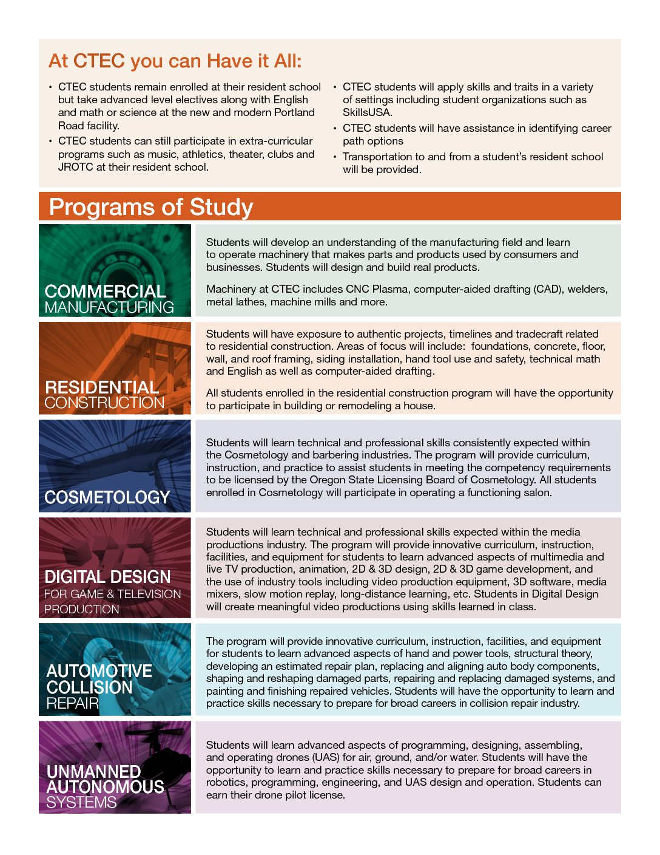 Programs of Study PDF