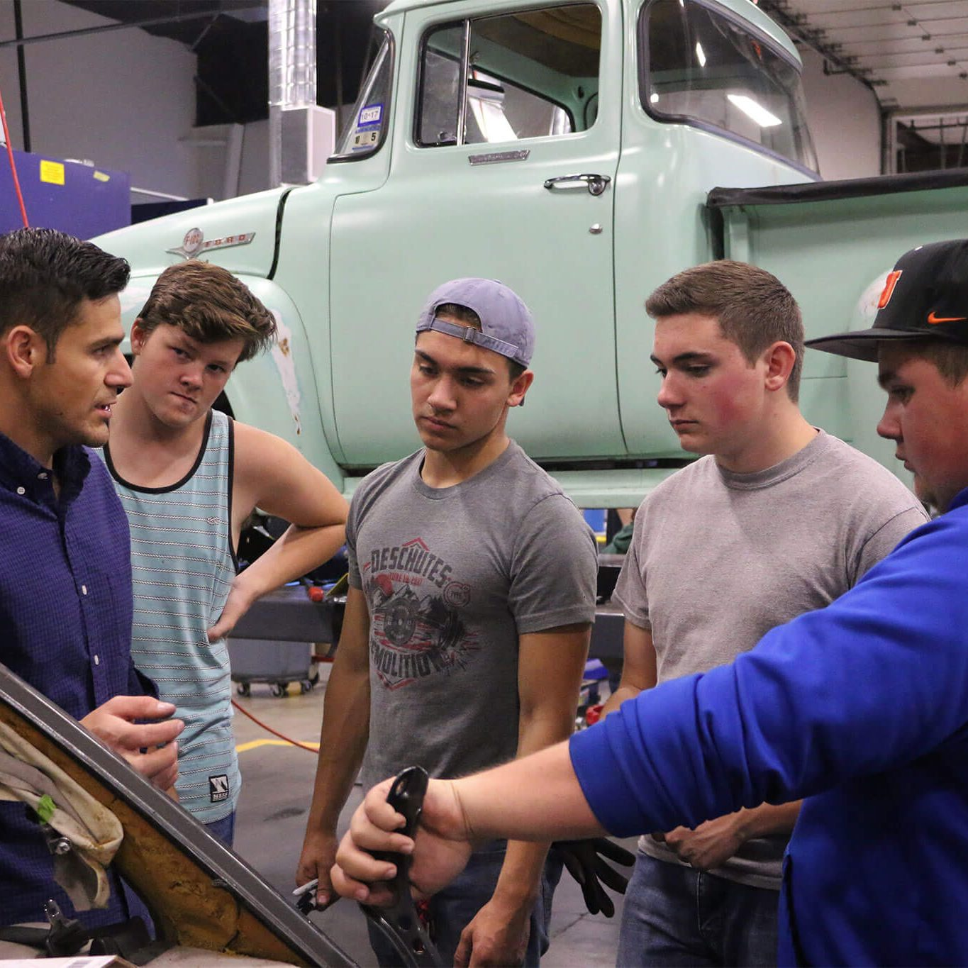 Auto Body Repair and Painting. CTEC Career Technical Education Center through Salem-Keizer Public Schools prepares students for high-skill, high-wage, and high-demand careers, while developing the professional skills, technical knowledge, academic foundation and real-world experience to assure their success upon graduation.